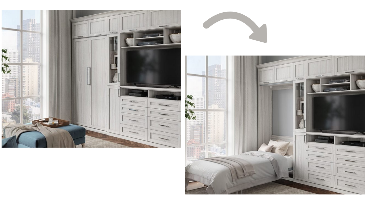 Murphy Wall Bed by California Closets
