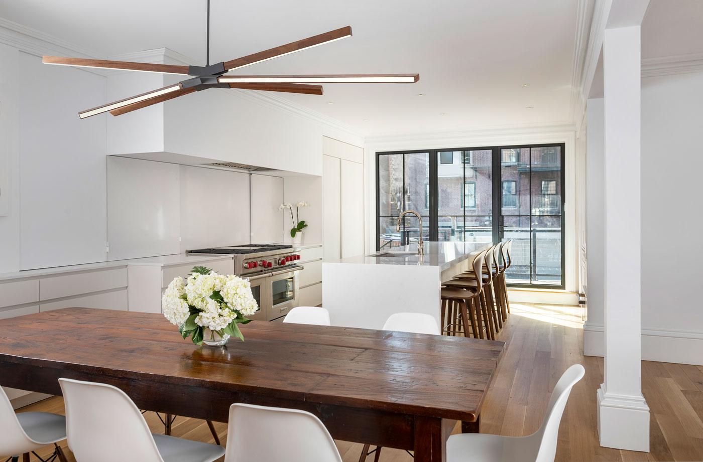 sleek and minimal kitchen