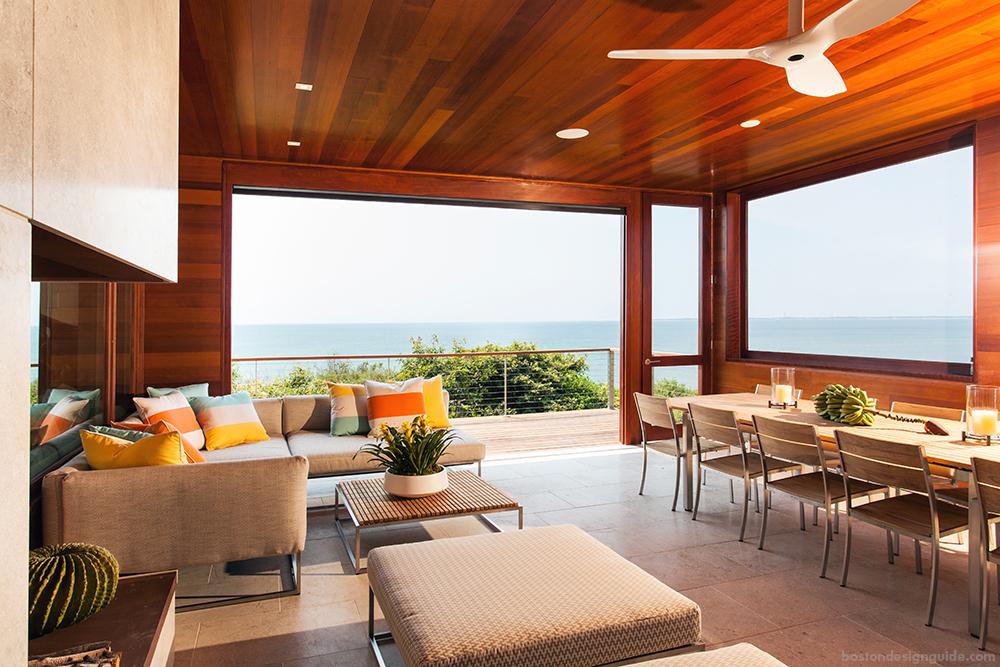 open sunroom design