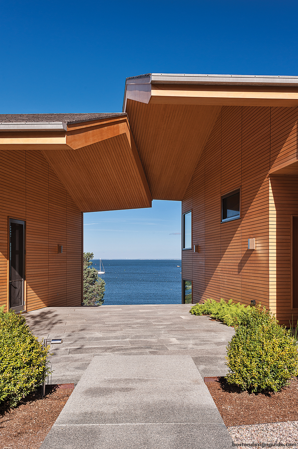 waterfront home views