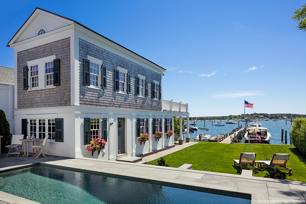 waterfront homes on the Cape and Islands