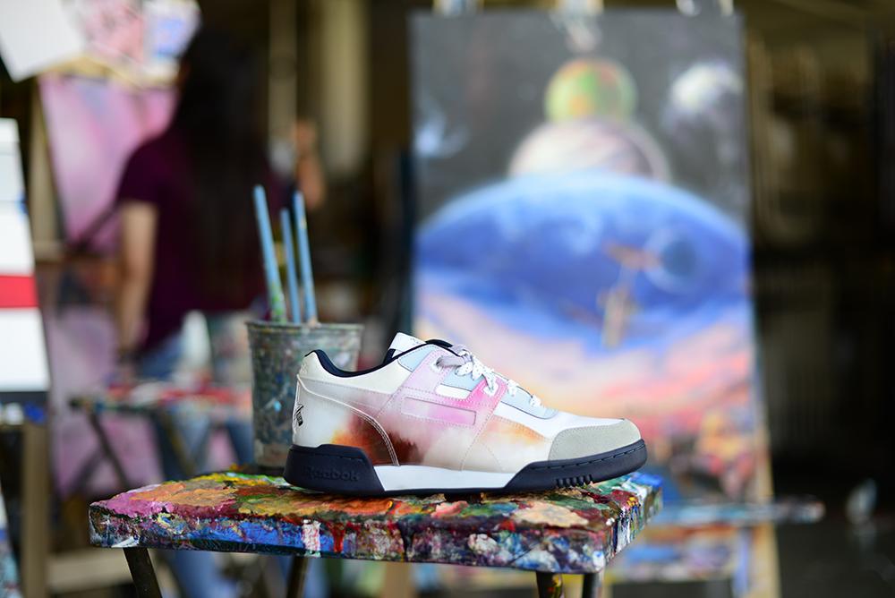 Workout Plus Reebok sneaker design Reebok Boston Massachusetts