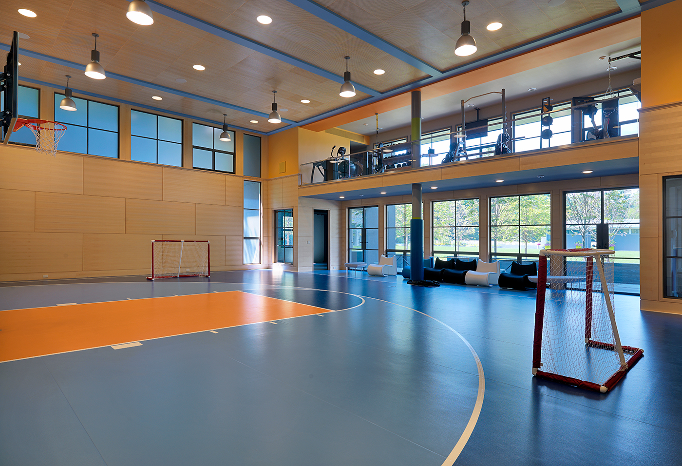 Home Court Advantage Indoor Hoops Boston Design Guide