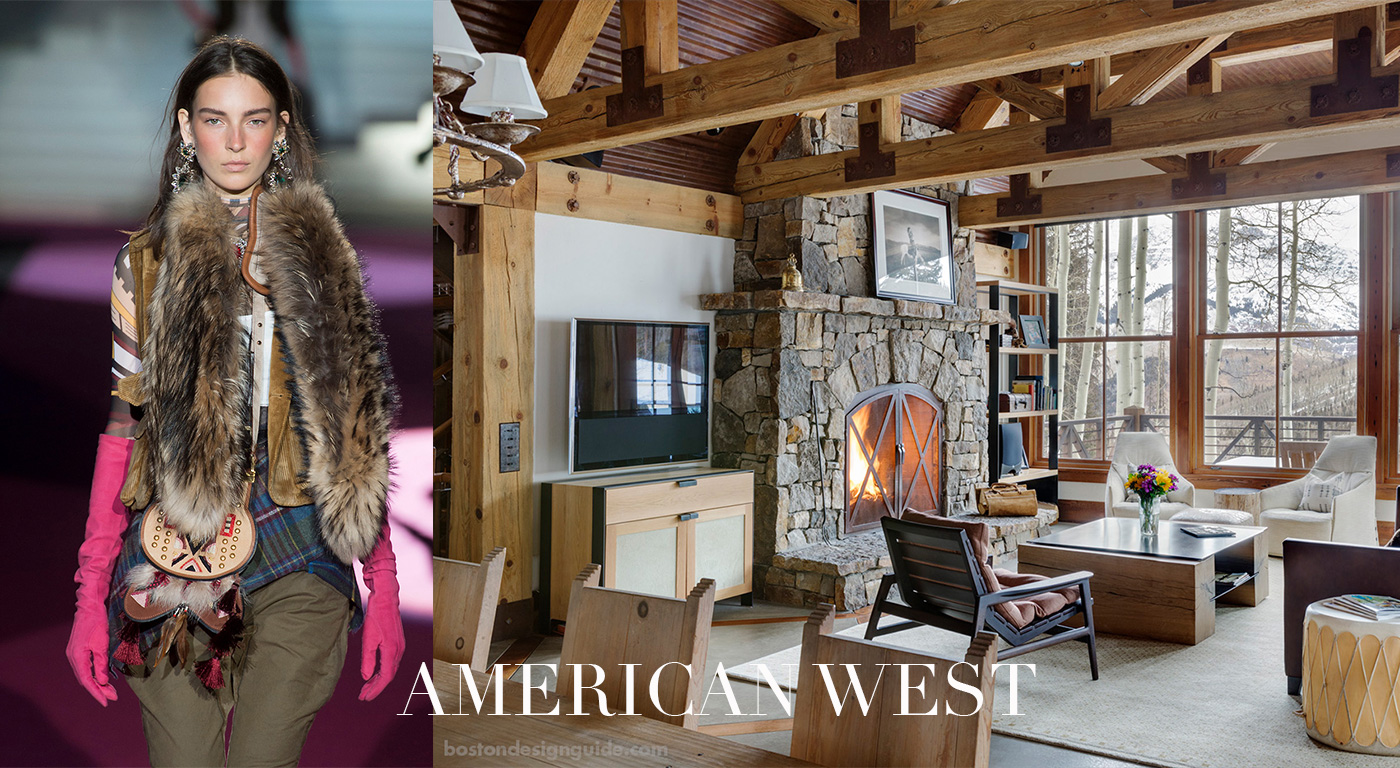 Fall Fashions in the Home, American West