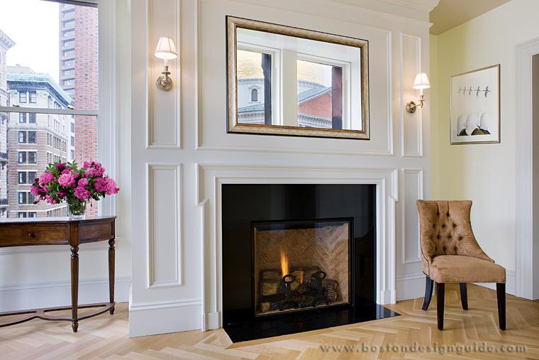 Anderson Fireplace | Boston Design Guide