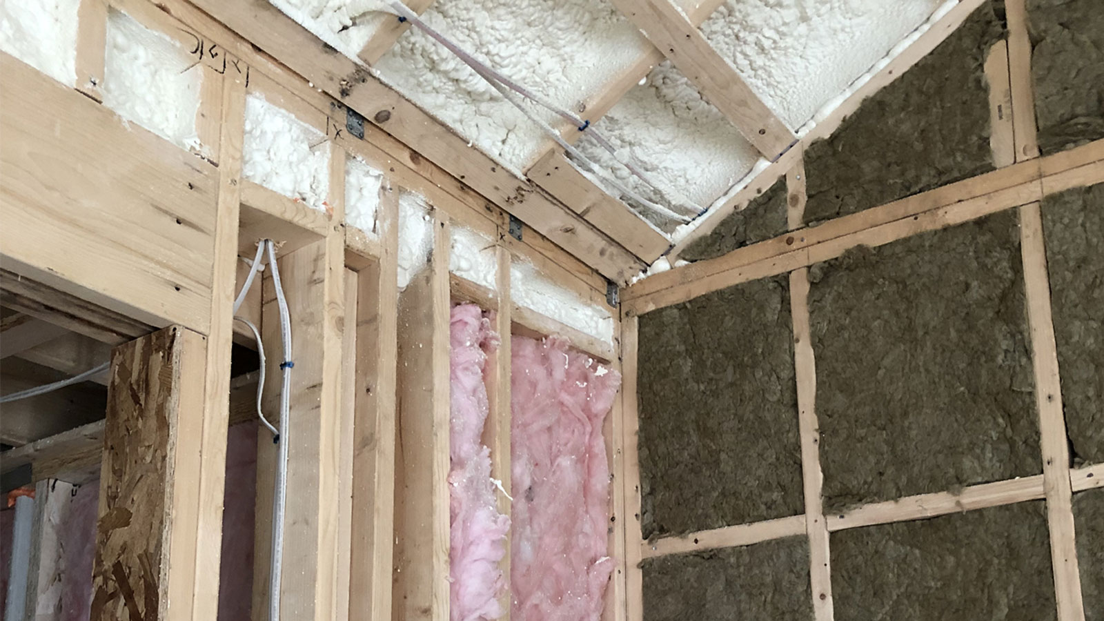 Closed cell insulation by Anderson Insulation