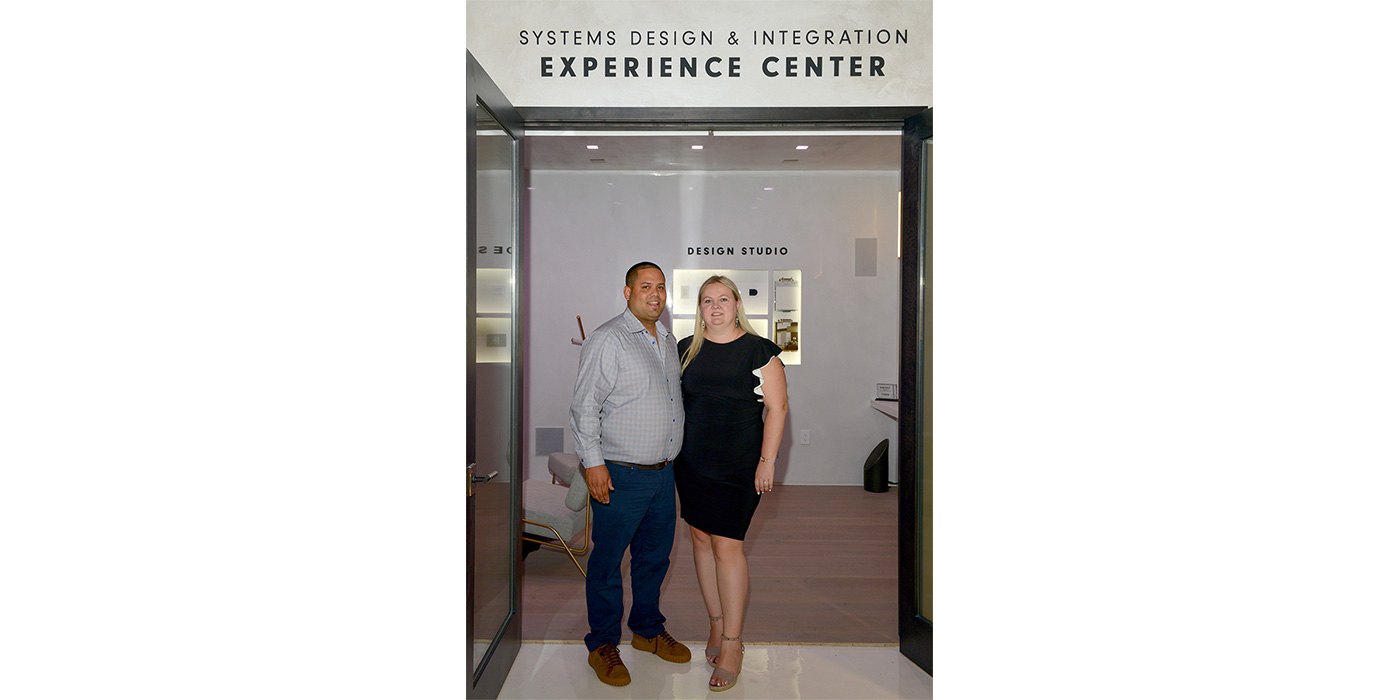 Angel and Alexa Centeno, owners of Systems Design & Integration