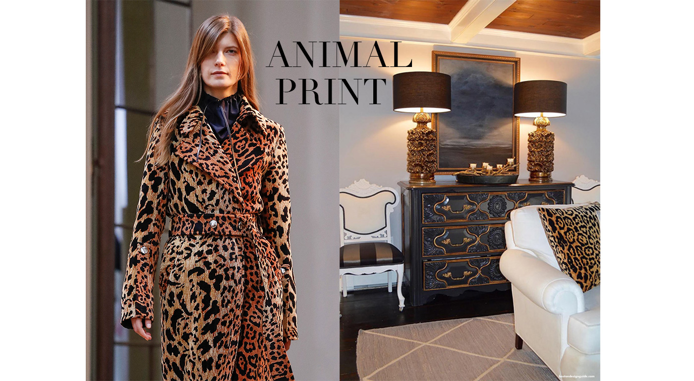 Fall Fashions in the Home, Animal Print