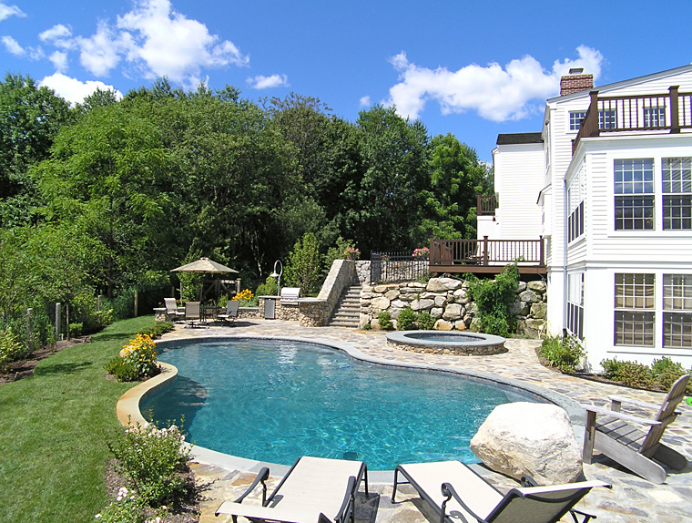 Captivating Aquascape Pool Designs. View Gallery
