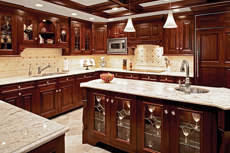 Architectural kitchens for Custom kitchen designer