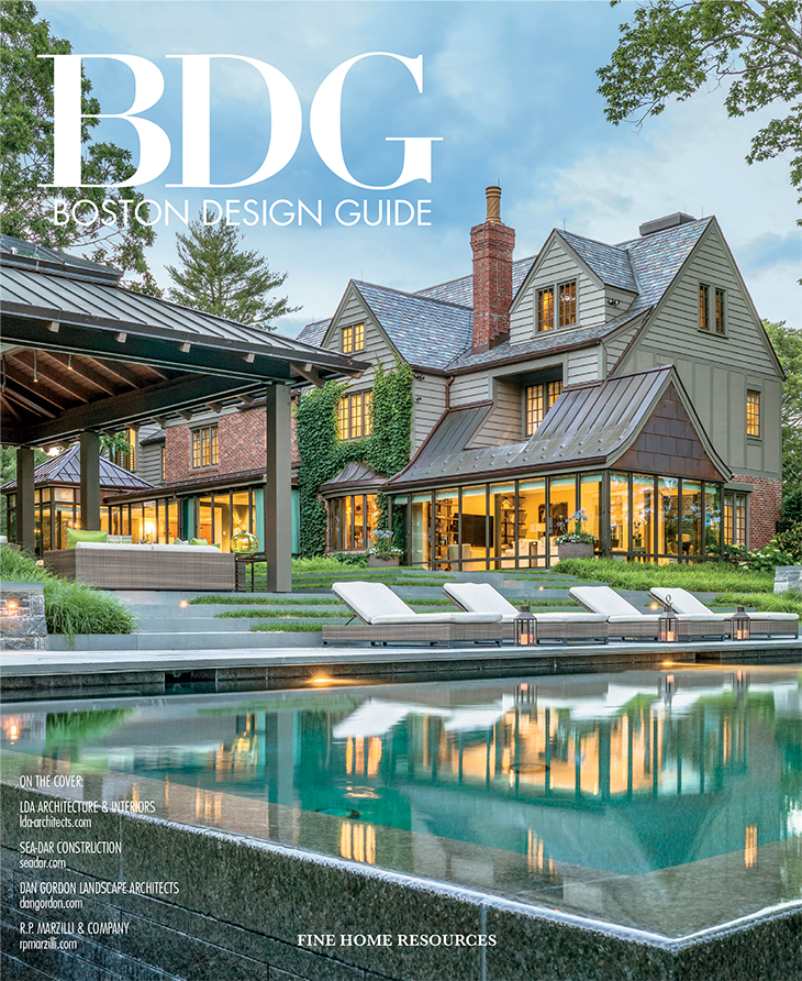 Boston design guide magazine cover
