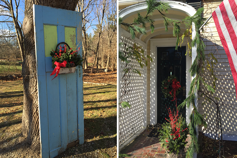 Home decor holiday doors