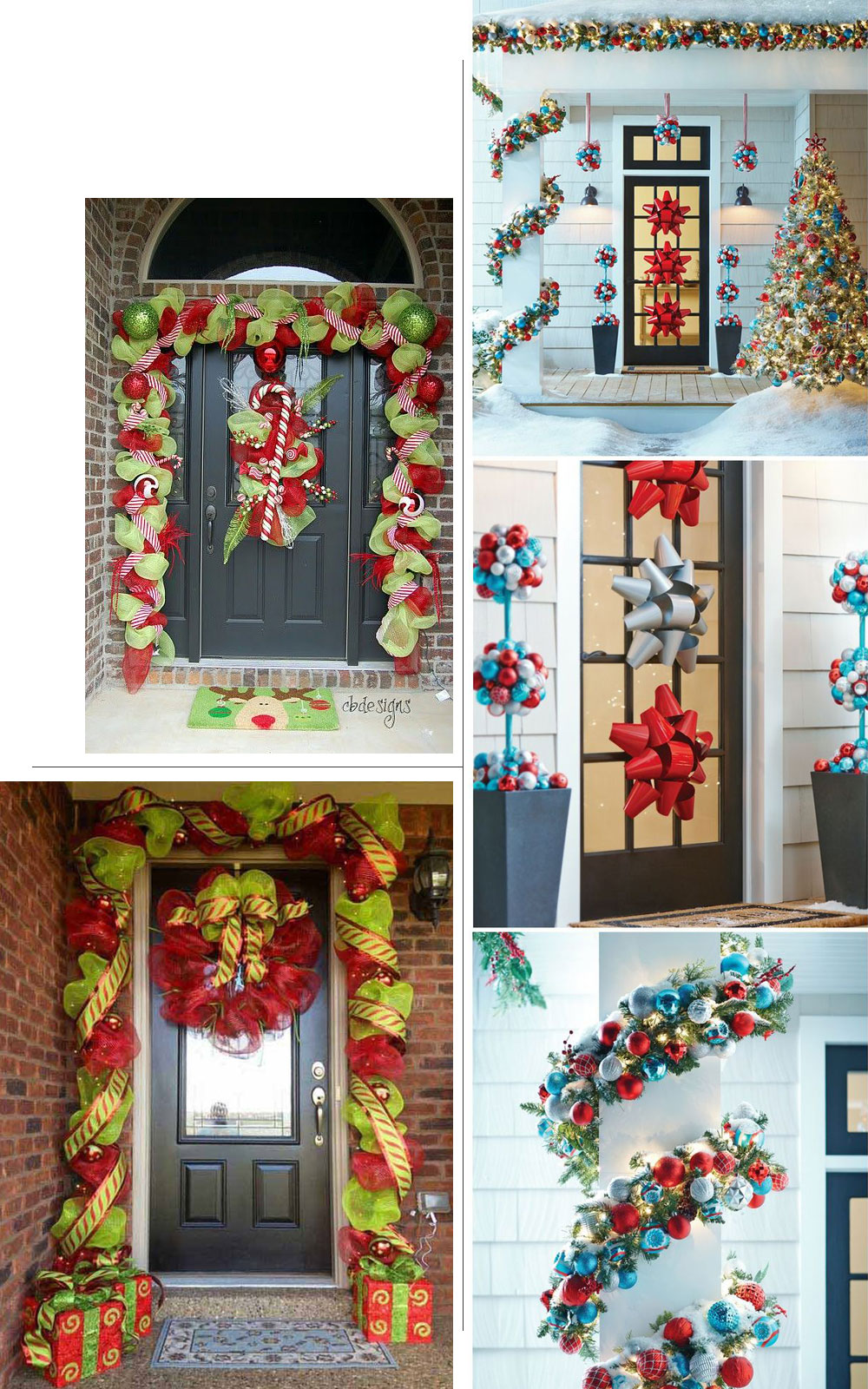 Holiday Home Decor Door
