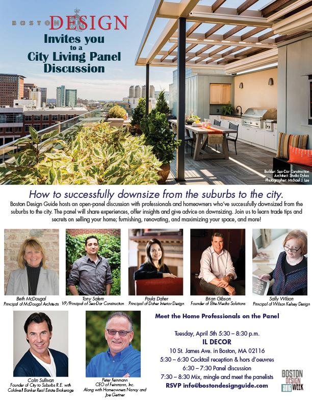 Boston Design Guide City Living Panel Discussion