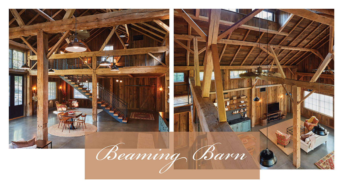 Entertainment barn by Catherine Truman Architects