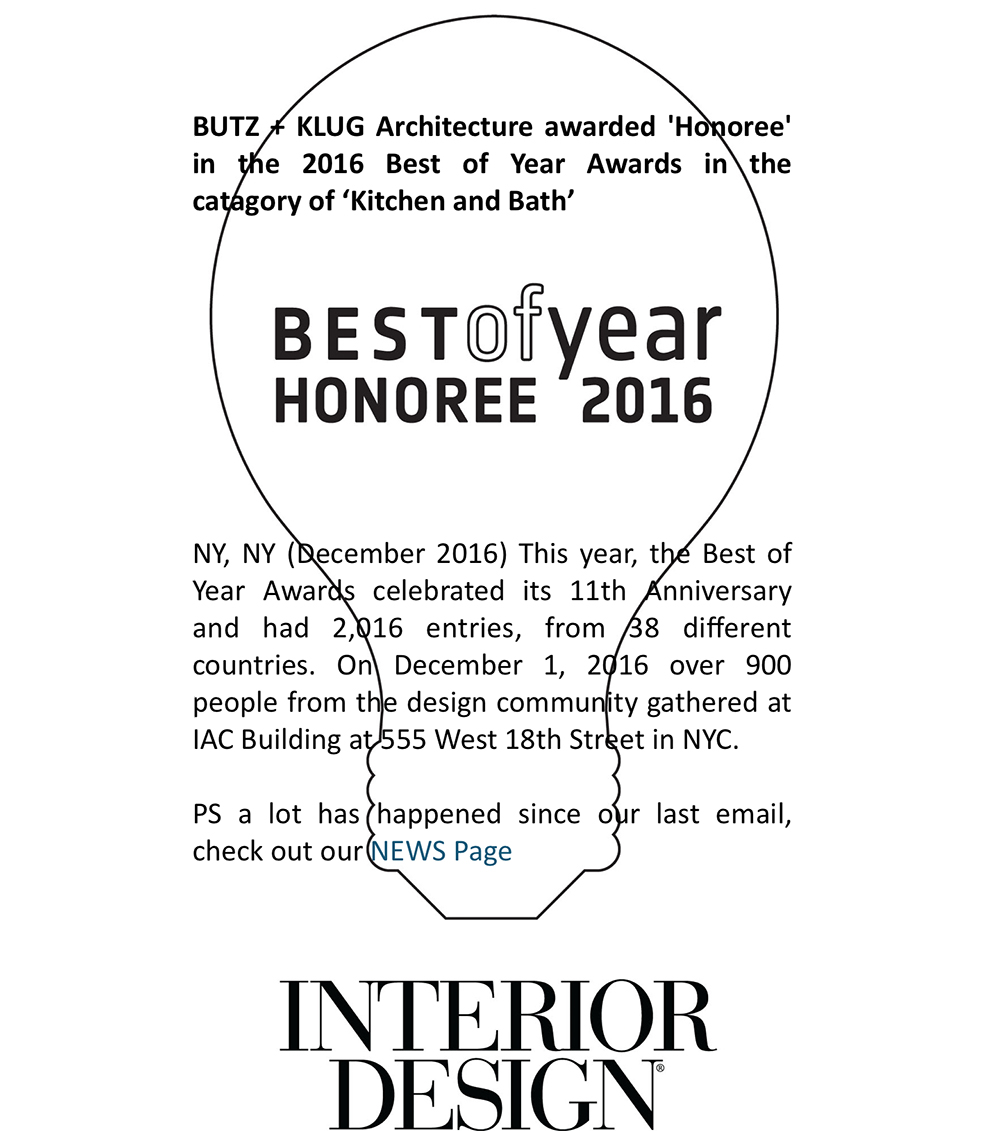 Interior Design Magazine 2016 Best Of Year Honoree In Kitchen And Bath Boston Design Guide