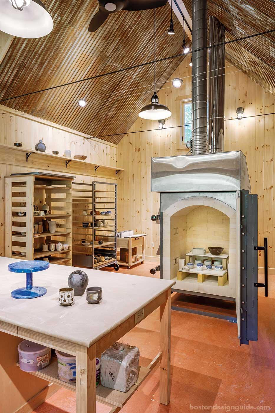 Ceramic studio by architect John D. Battle