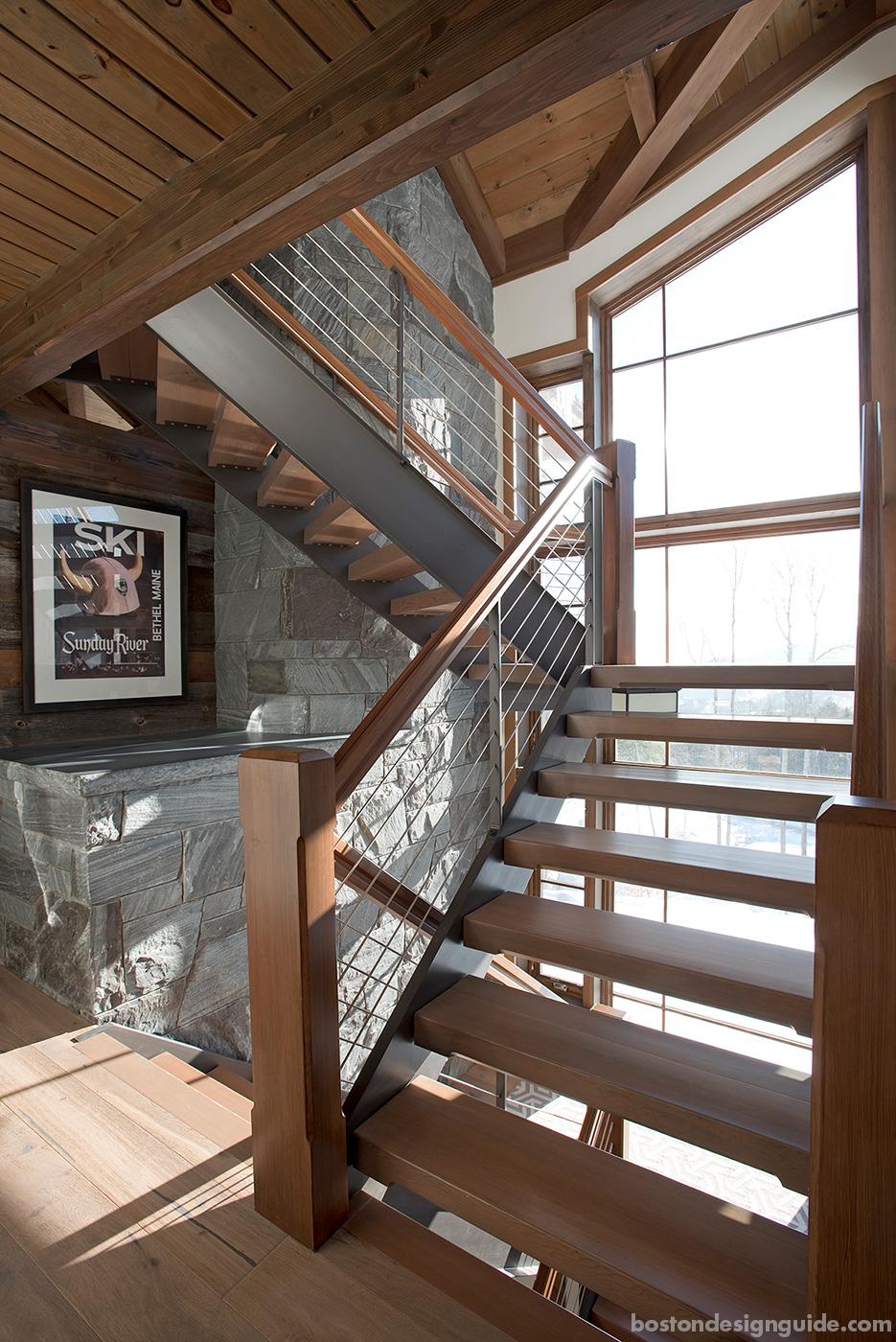 Striking energy-efficient ski house designed and built by Bensonwood