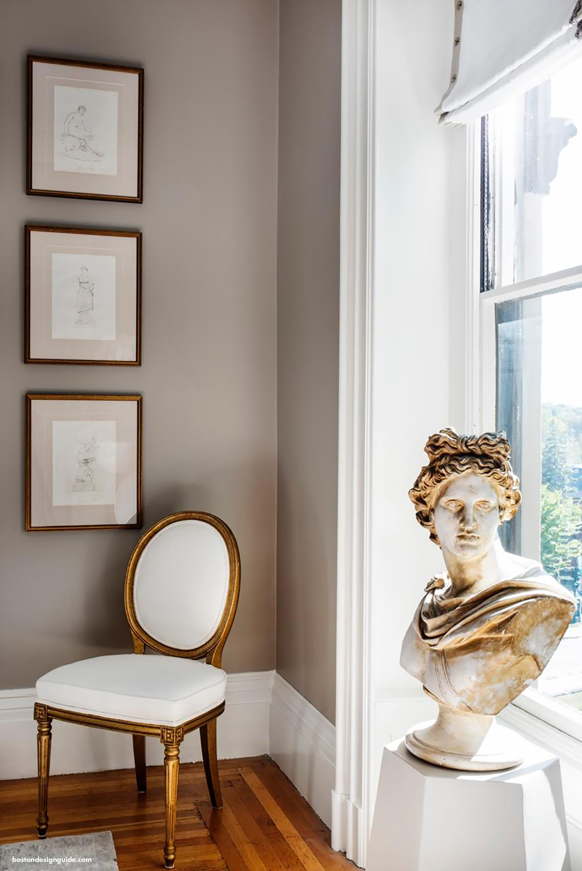 Busts in interior design