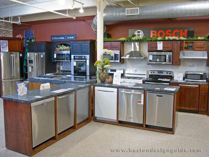 Boston appliance for Kitchen design showrooms boston