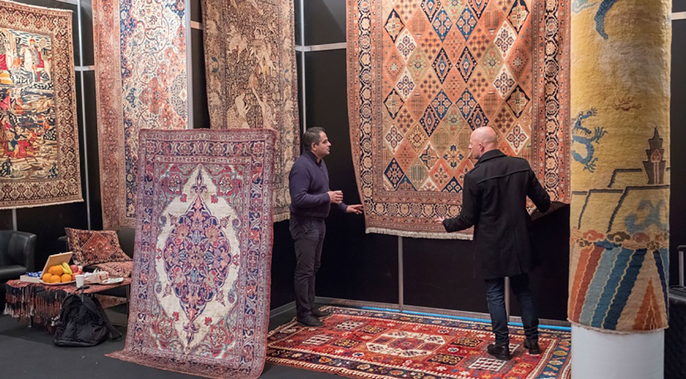 Domotex Rug exhibit, trends and designs in high-end rugs