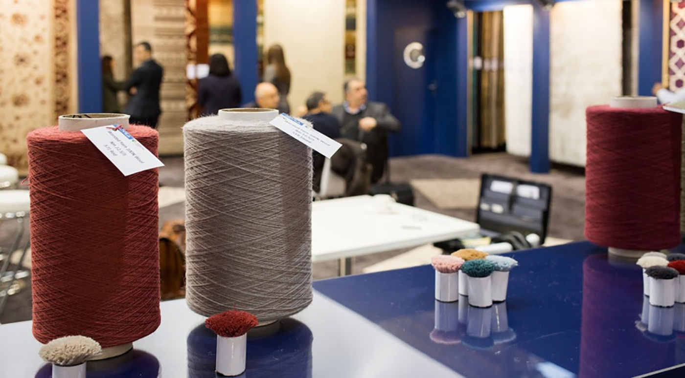 Domotex event, high-end rug designs and trends