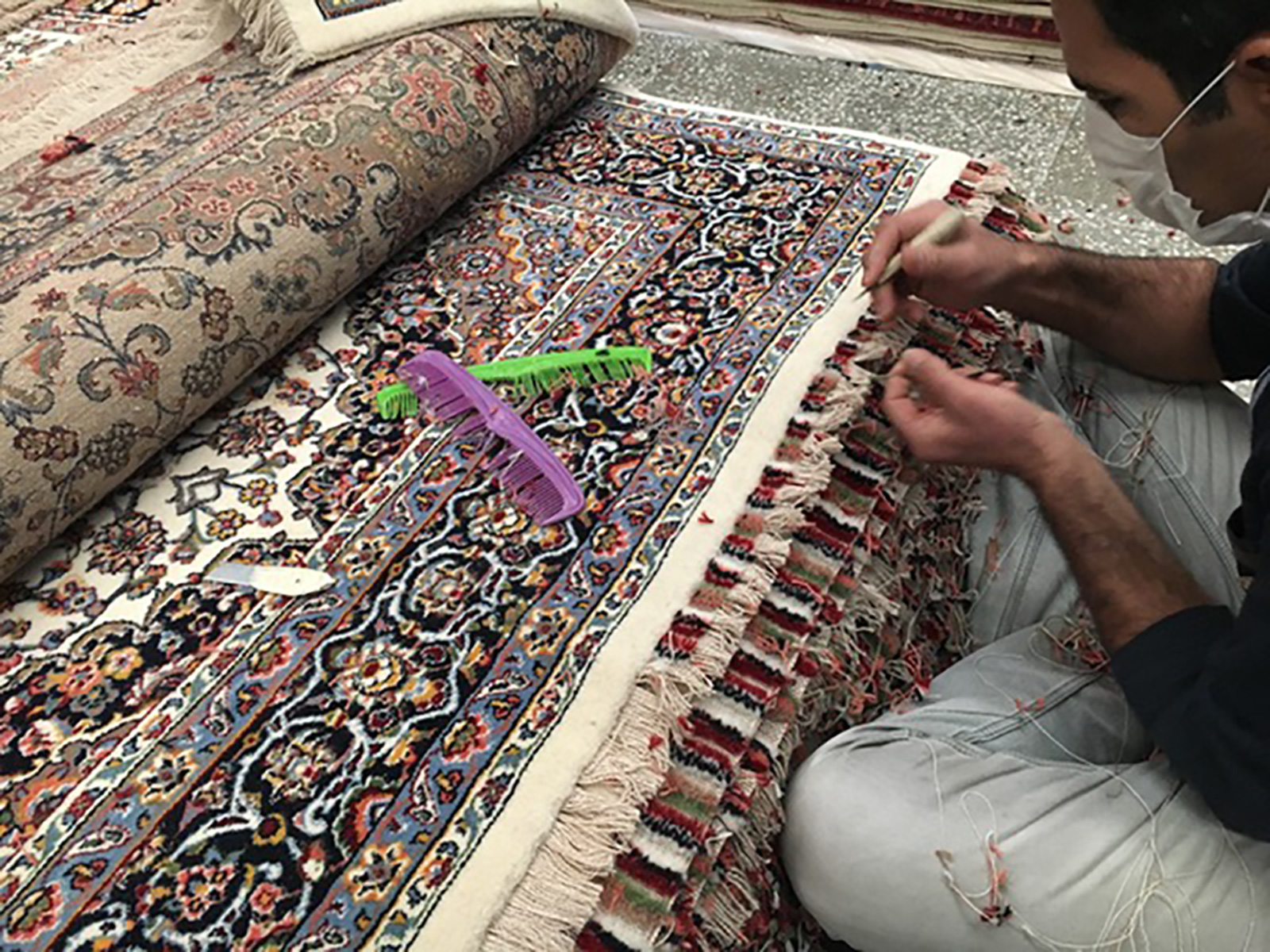 Hand-made high-end Oriental rugs