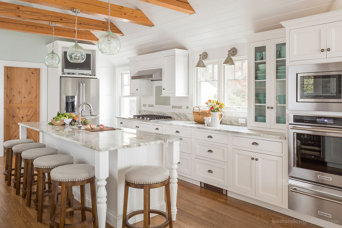 A Cape Cod Cottage-Style Kitchen\'s New Look | Boston Design ...