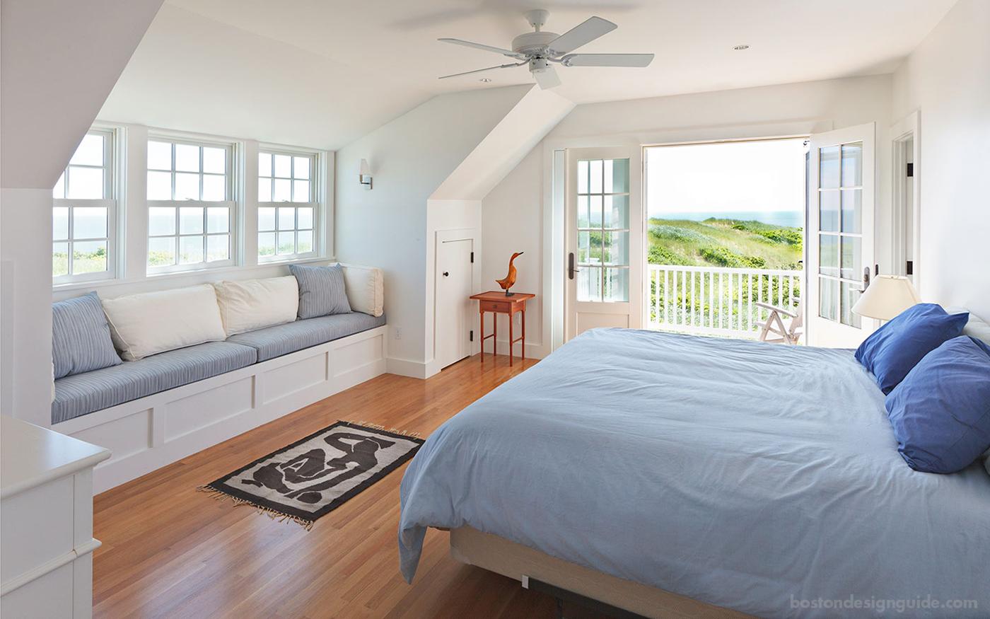 Breezy bedroom on the dunes
