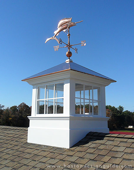 Prep your home for summer boston design guide for Pictures of houses with cupolas