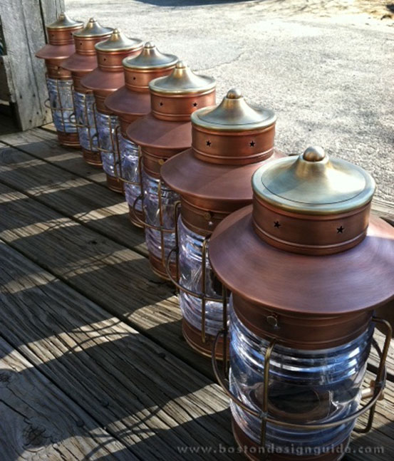 High-end copper lanterns