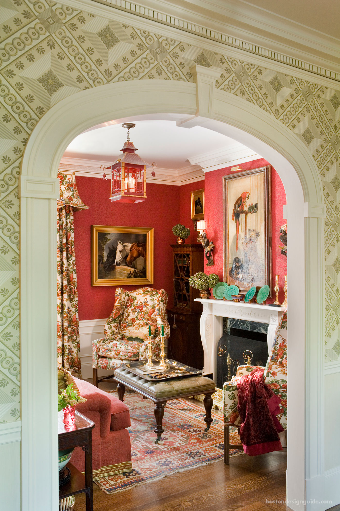 Classic living room by Anthony Catalfano Interiors