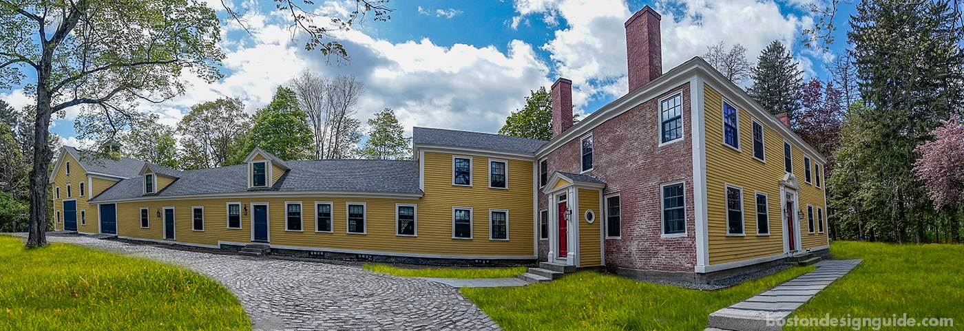 A high-end historic renovation in the Boston area by Cummings Architects
