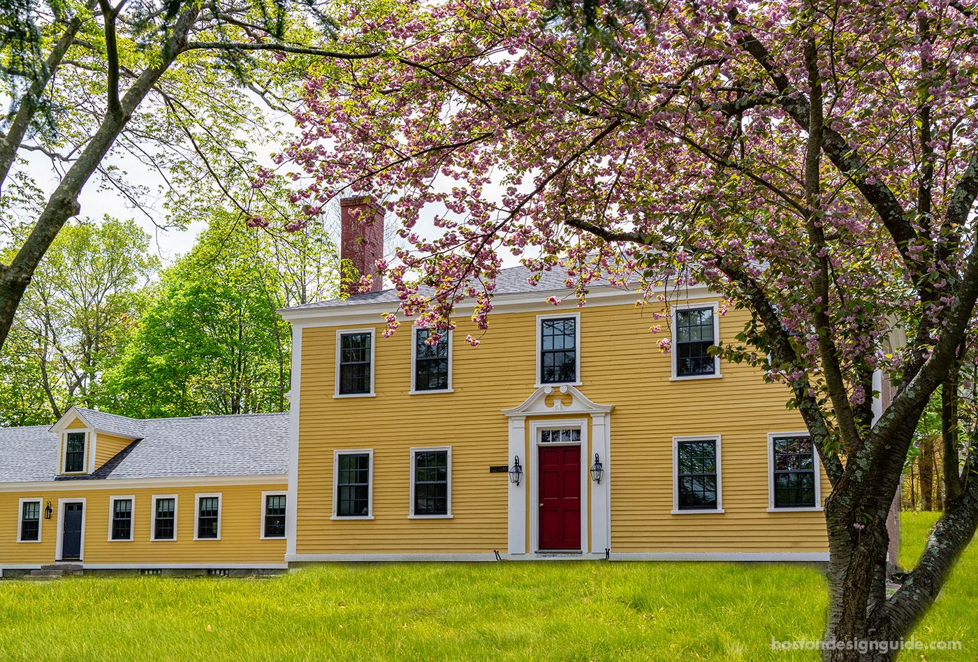 Federal Era Farm-House Style Restoration by Cummings Architects