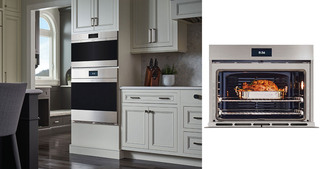 Wolf M Series Oven available at Clarke