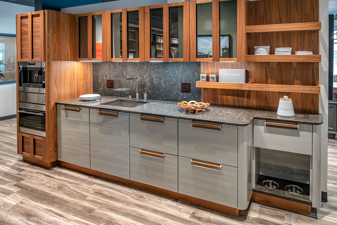 Interiology Design Studio Co. Custom Kitchen featuring Composit cabinetry