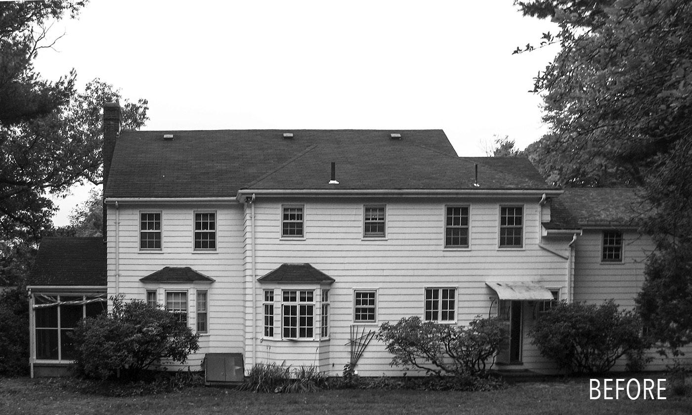 Jan Gleysteen Architects' historic renovation—before