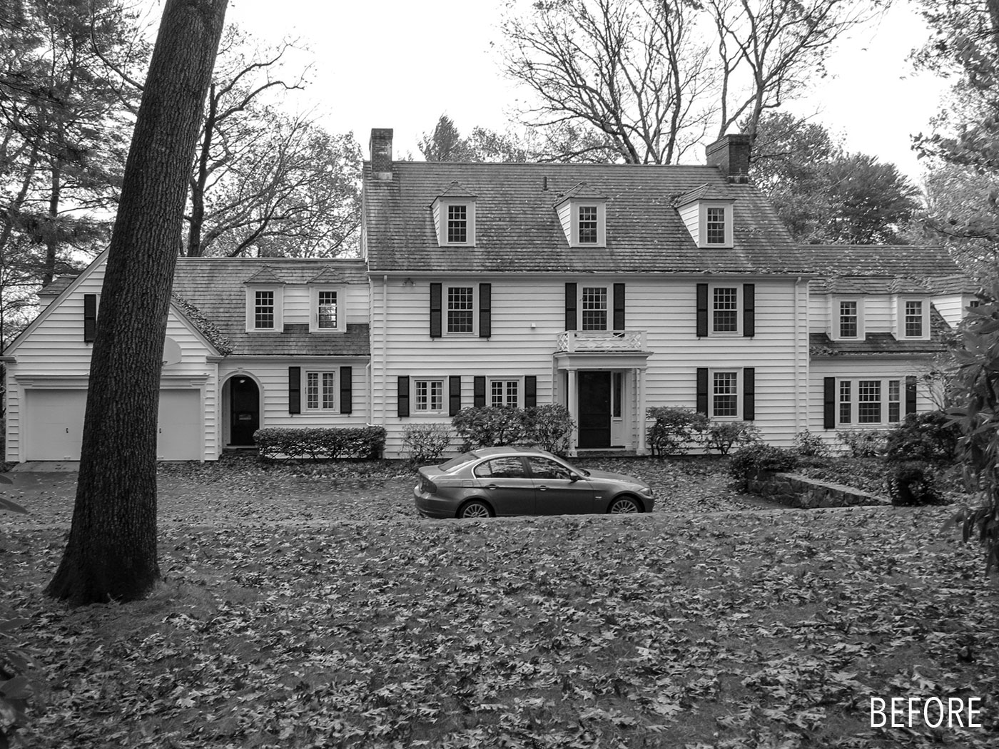 Colonial renovation and addition by Jan Gleysteen Architects, before