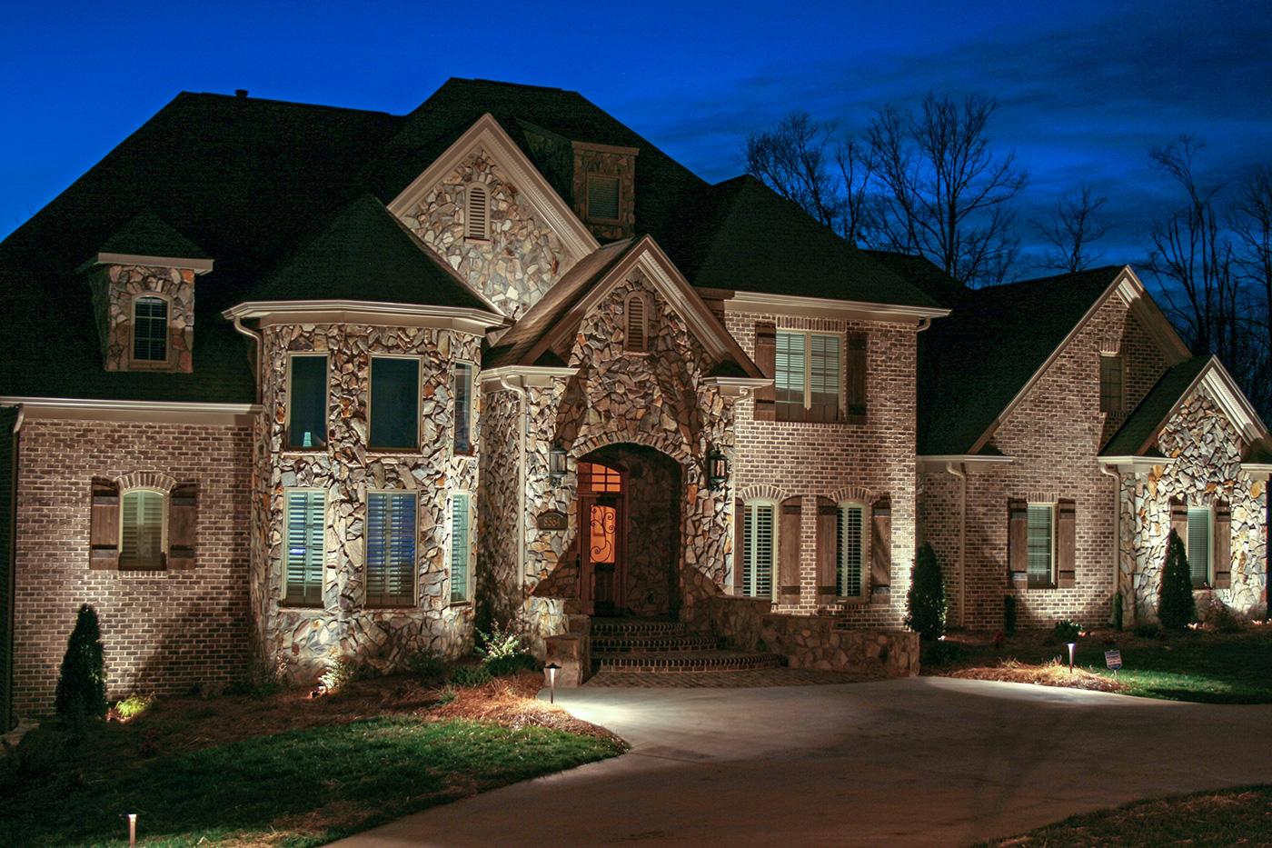 Control4 home lighting automation creates the idea of mockupancy