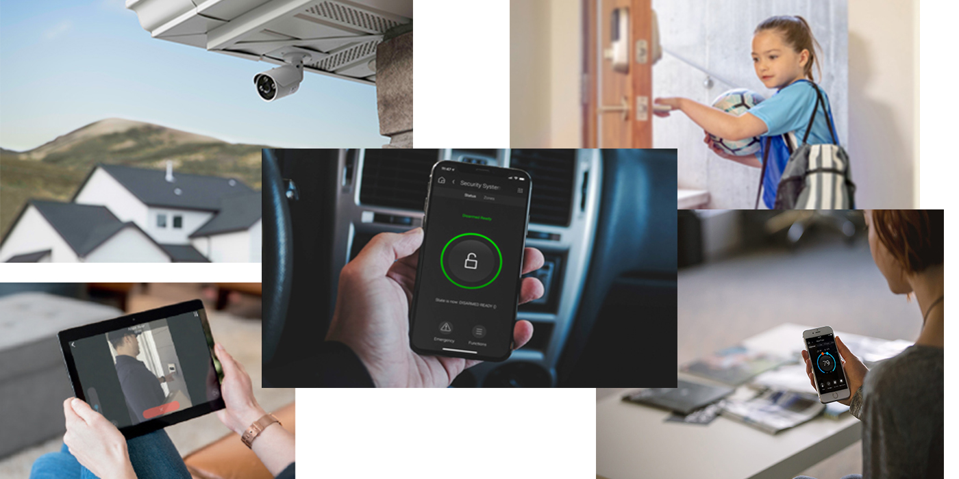 Control4 smart home security features
