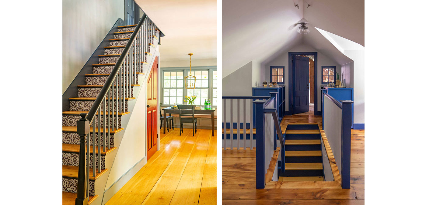 Stair solutions for a historic Federal Era renovation by Cummings Architects
