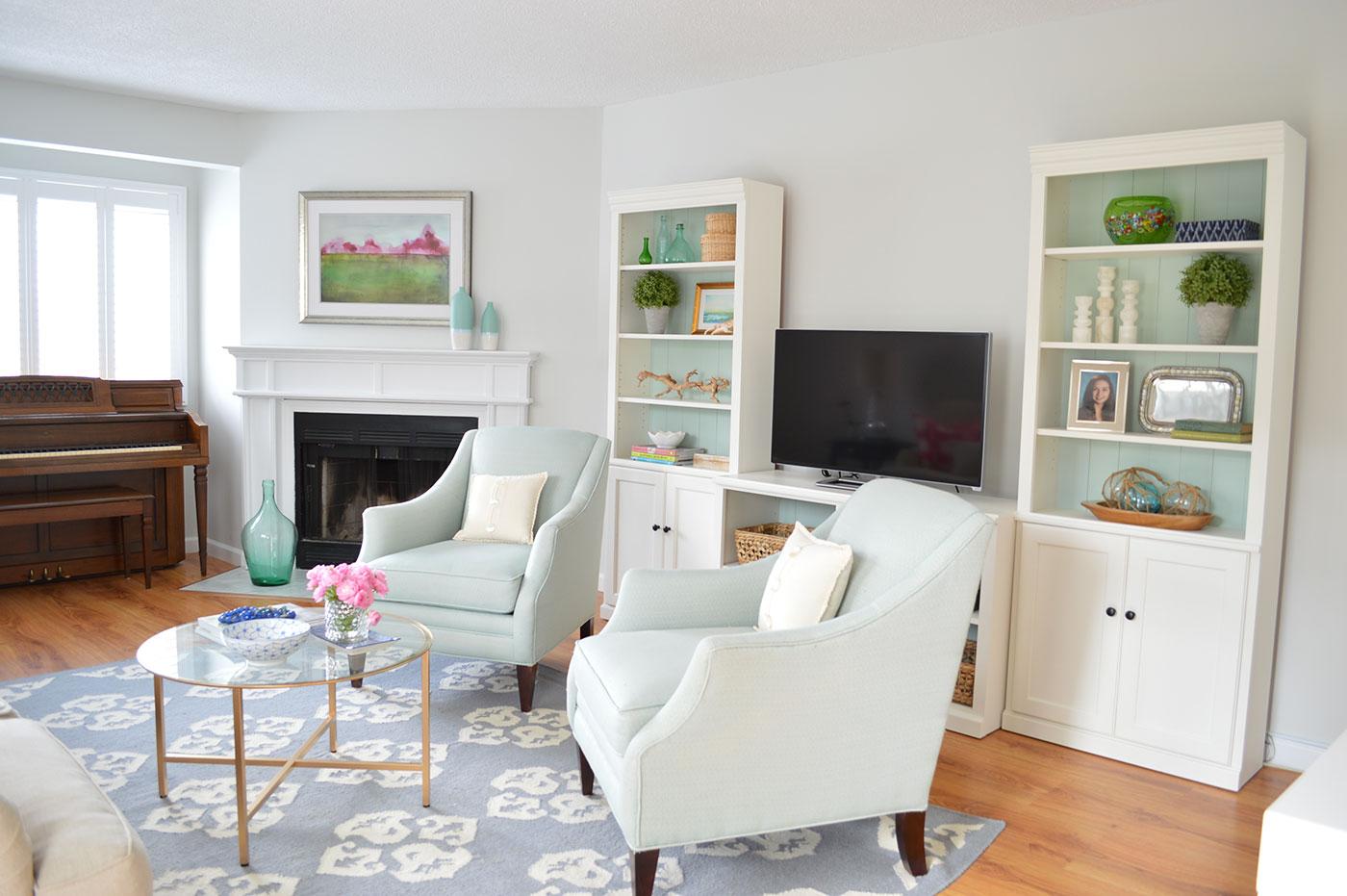 Interior Springtime decor from Summerland Homes and Gardens