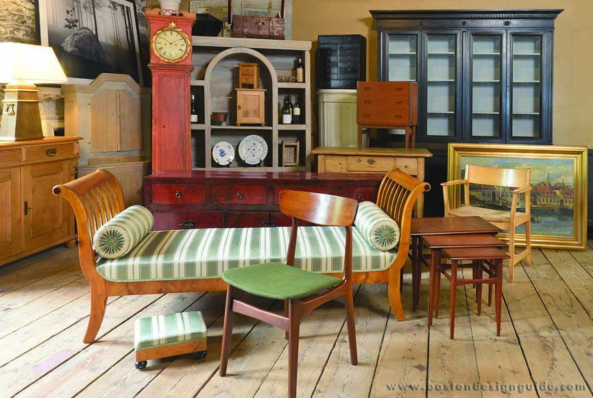 - Danish Country Antique Furniture