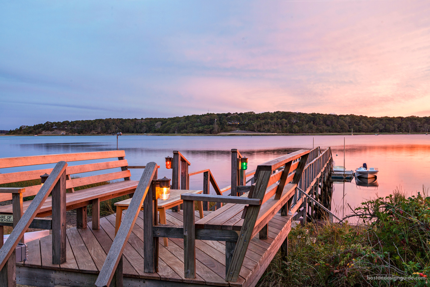 Dock design on Cape Cod