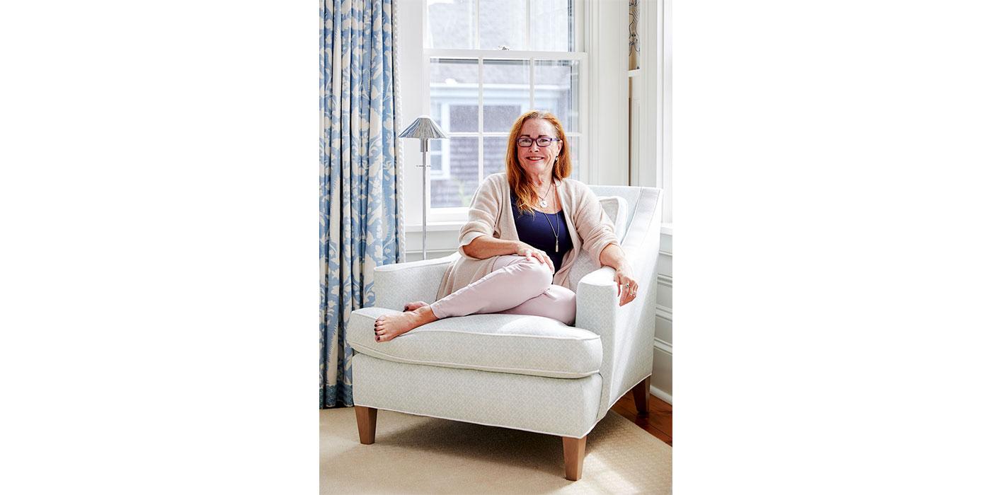 Donna Elle, Principal of Nantucket-based interior design studio Donna Elle Design