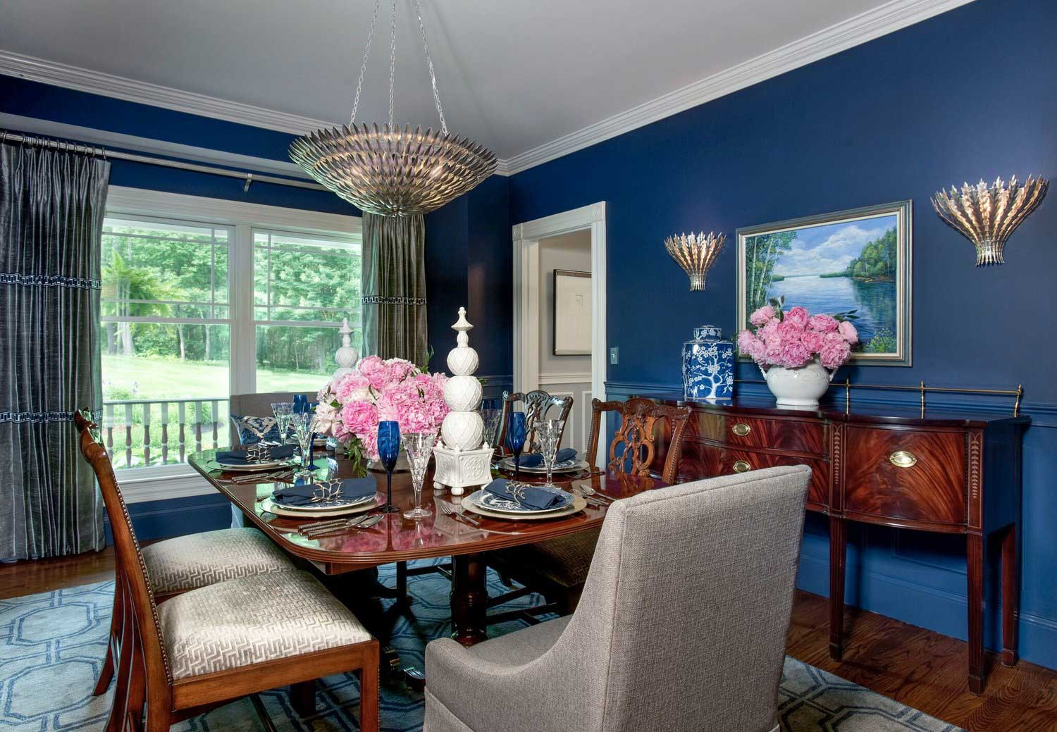 Dining room design by Boehm Graham Interior Design