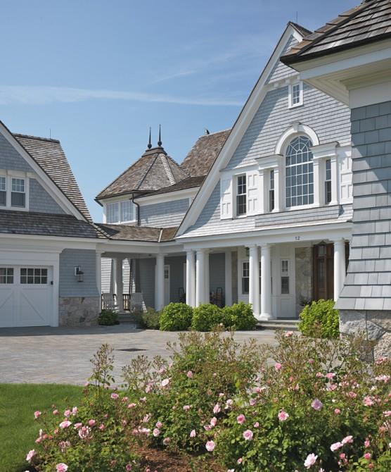 The bishopric companies for Hampton shingle style house plans