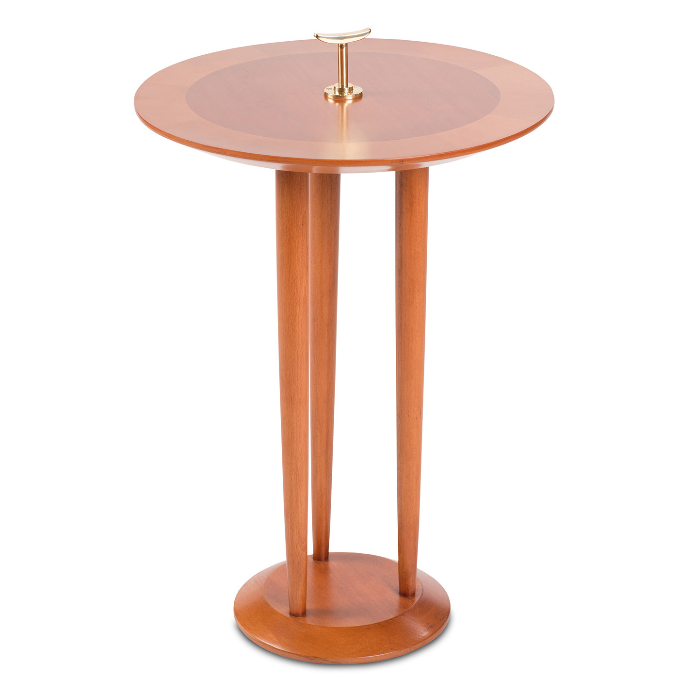 High-end side table designed by Boston interior designer
