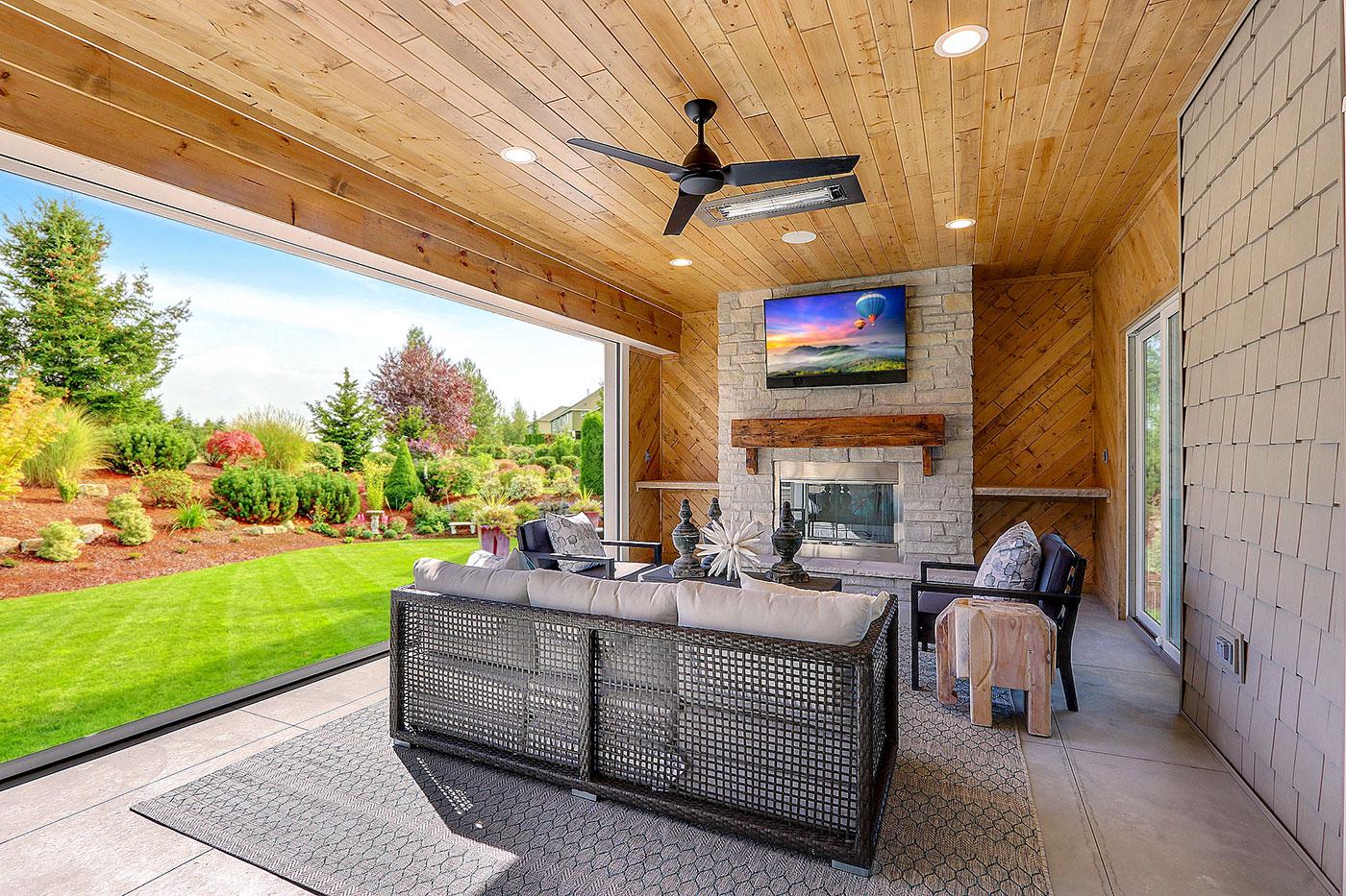 Home AV systems enhance outdoor living