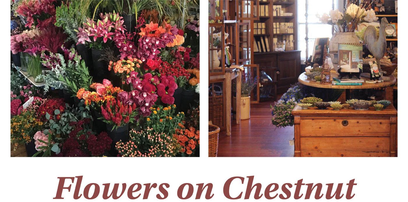Flowers on Chestnut, Nantucket Island